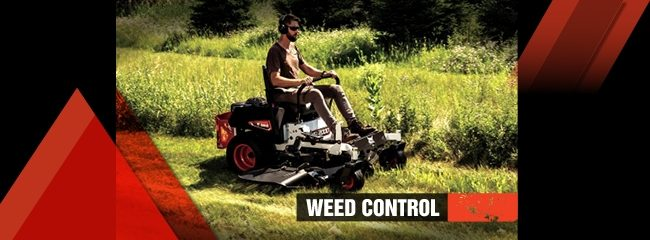 Bobcat weed control tips